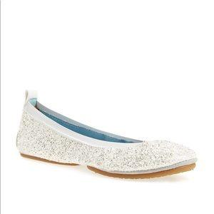 New Yosi Samra Bridal Collection White Glitter